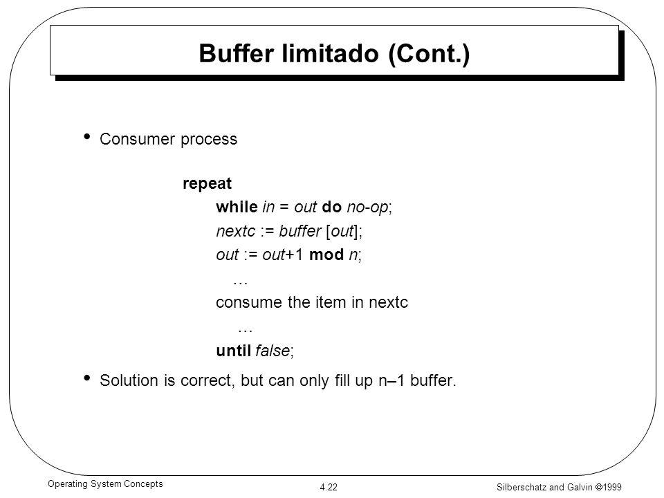 Buffer limitado (Cont.)