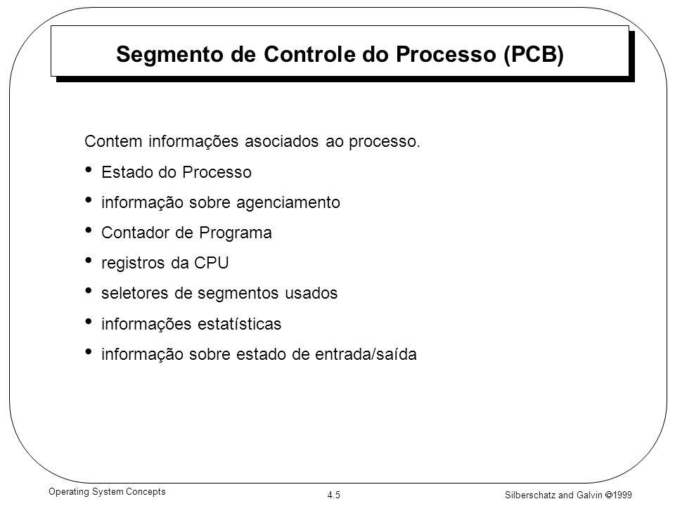 Segmento de Controle do Processo (PCB)
