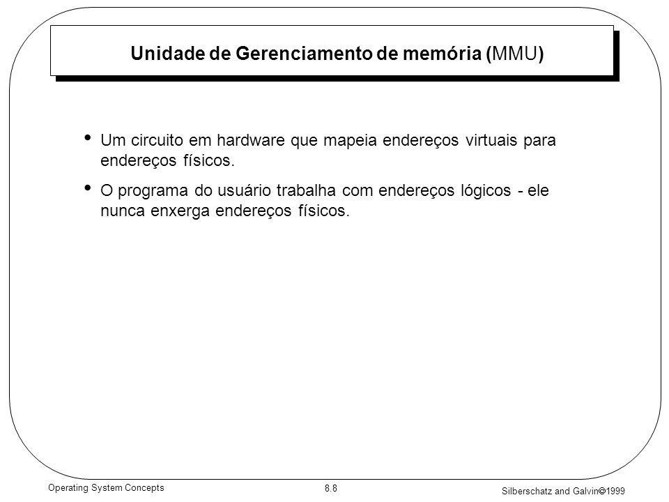 Unidade de Gerenciamento de memória (MMU)
