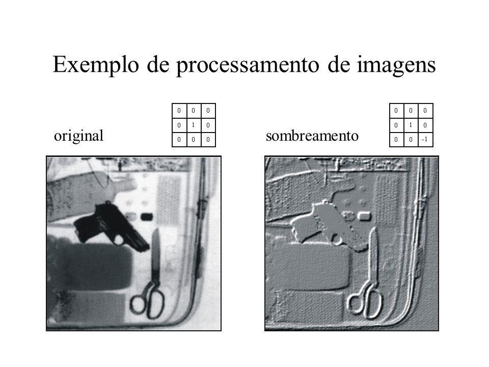 Exemplo de processamento de imagens