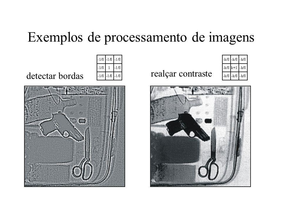 Exemplos de processamento de imagens