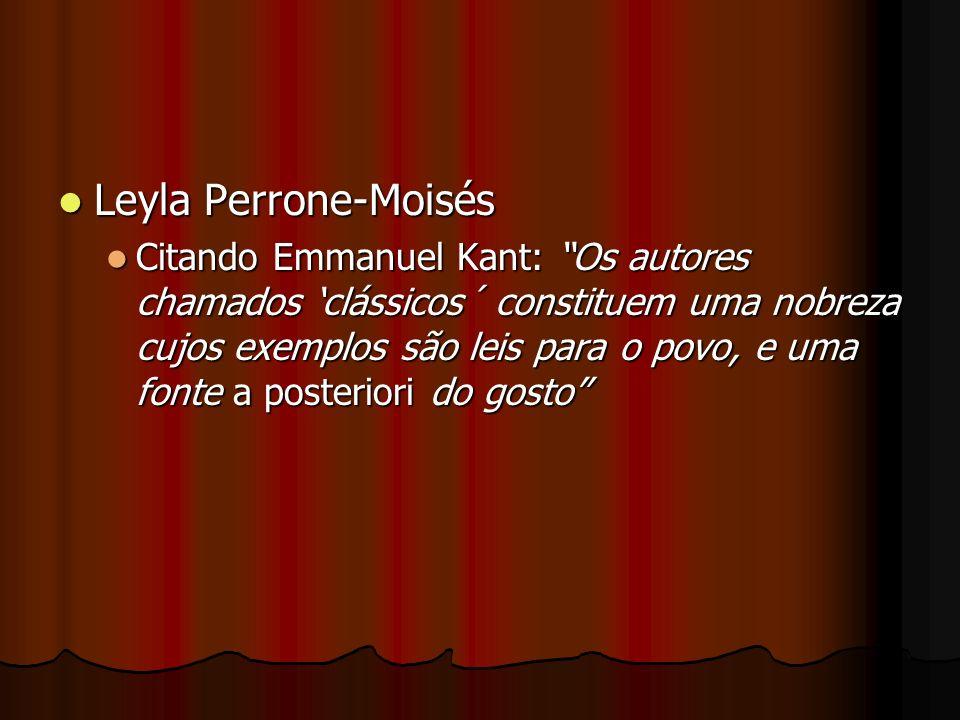 Leyla Perrone-Moisés
