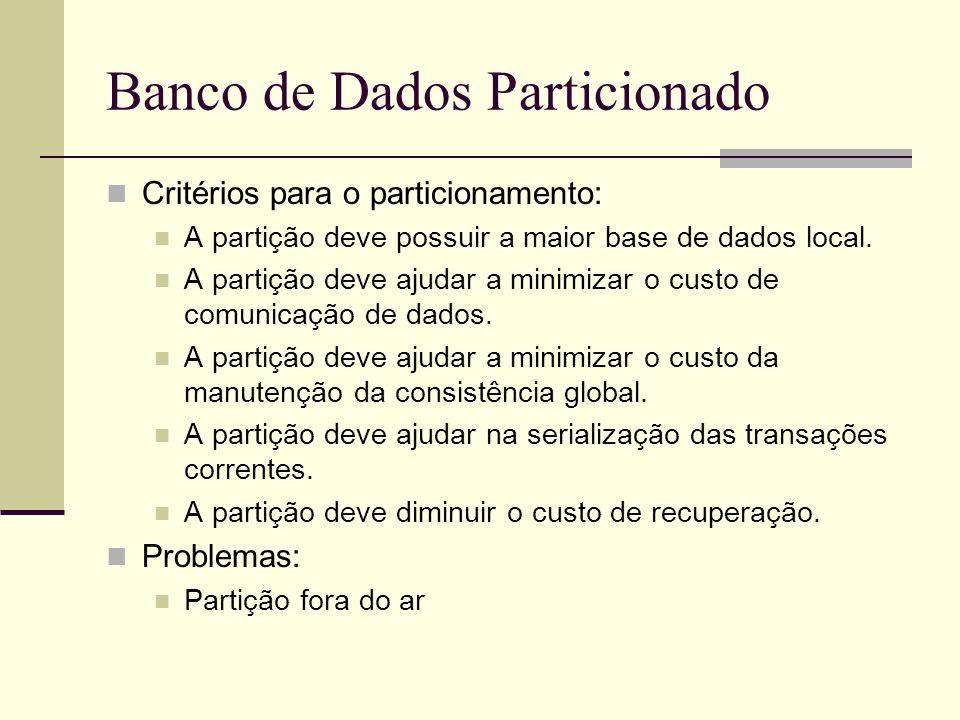 Banco de Dados Particionado