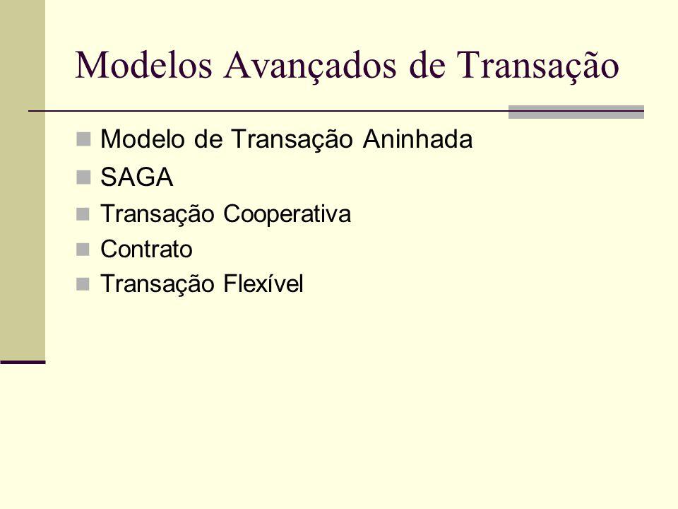 Modelos Avançados de Transação