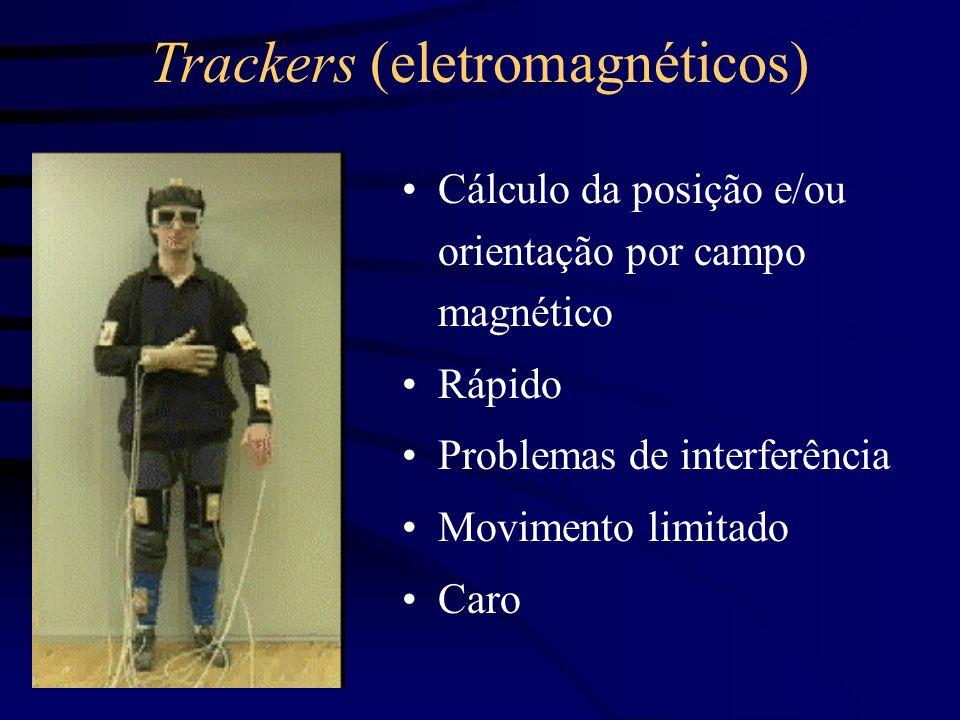 Trackers (eletromagnéticos)