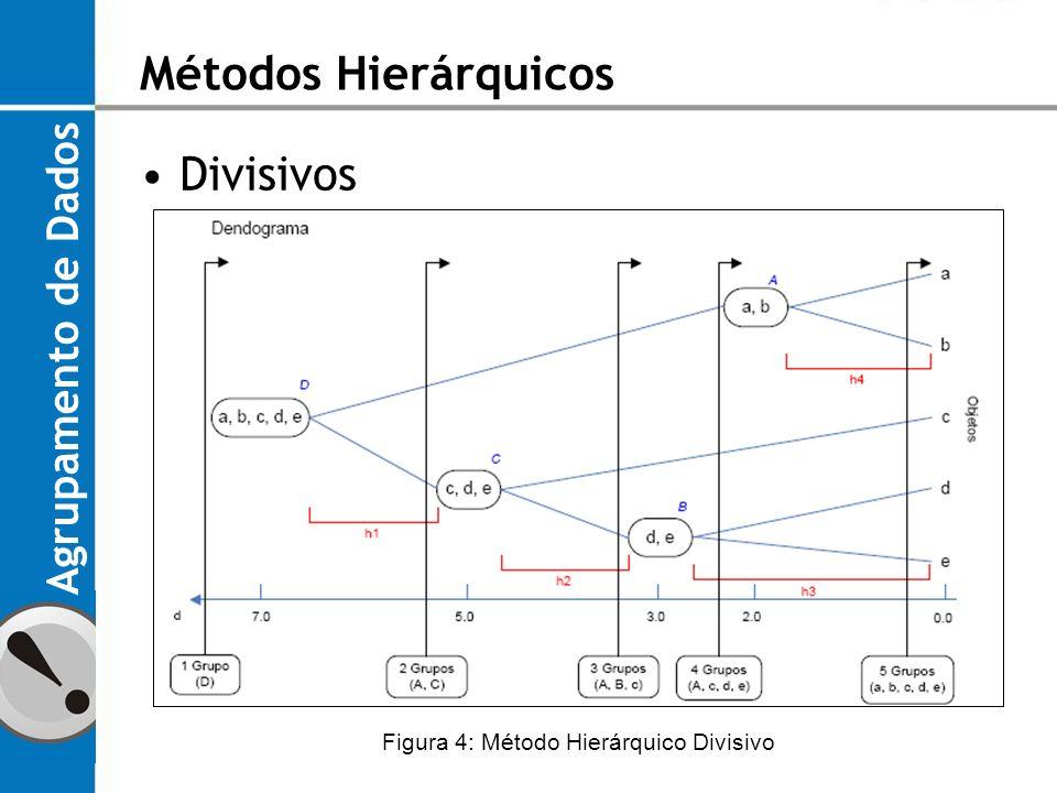 Figura 4: Método Hierárquico Divisivo