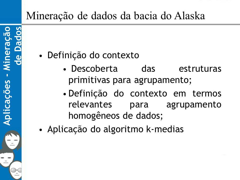 Mineração de dados da bacia do Alaska