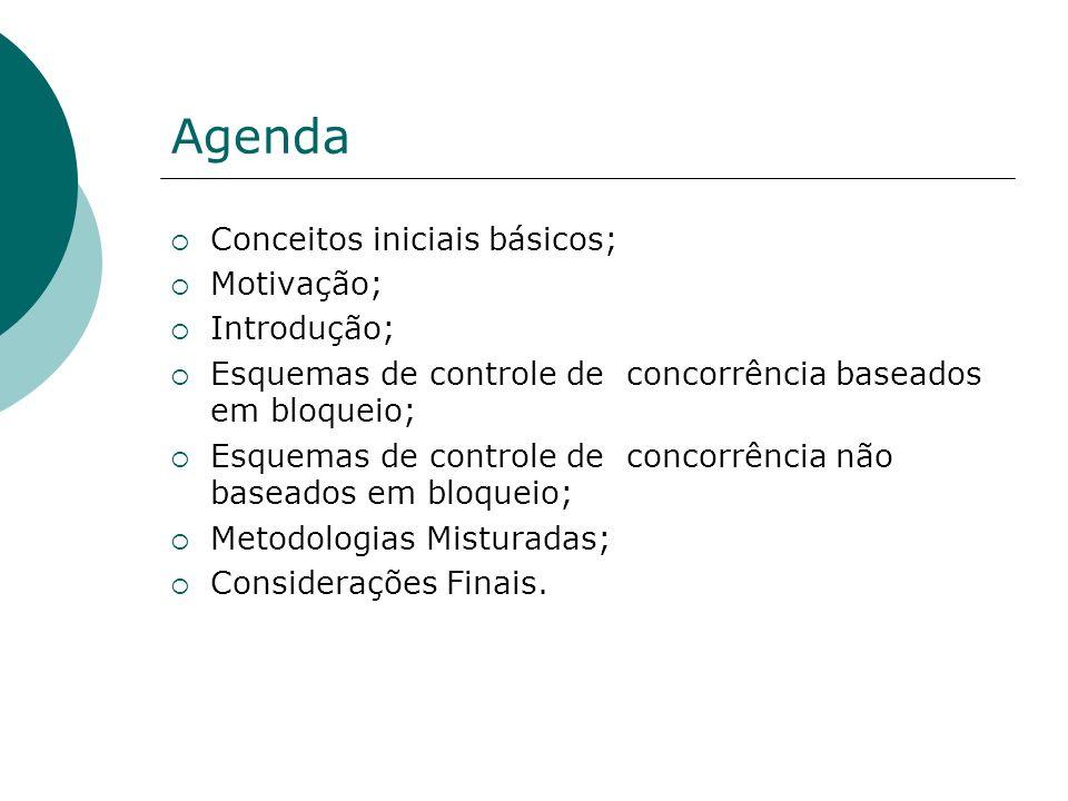 Agenda Conceitos iniciais básicos; Motivação; Introdução;