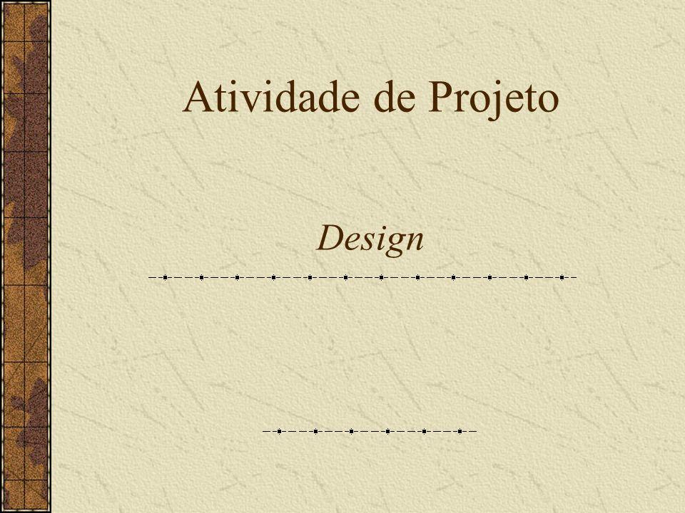 Atividade de Projeto Design