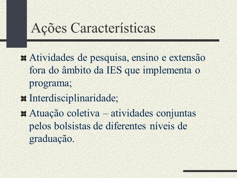 Ações Características