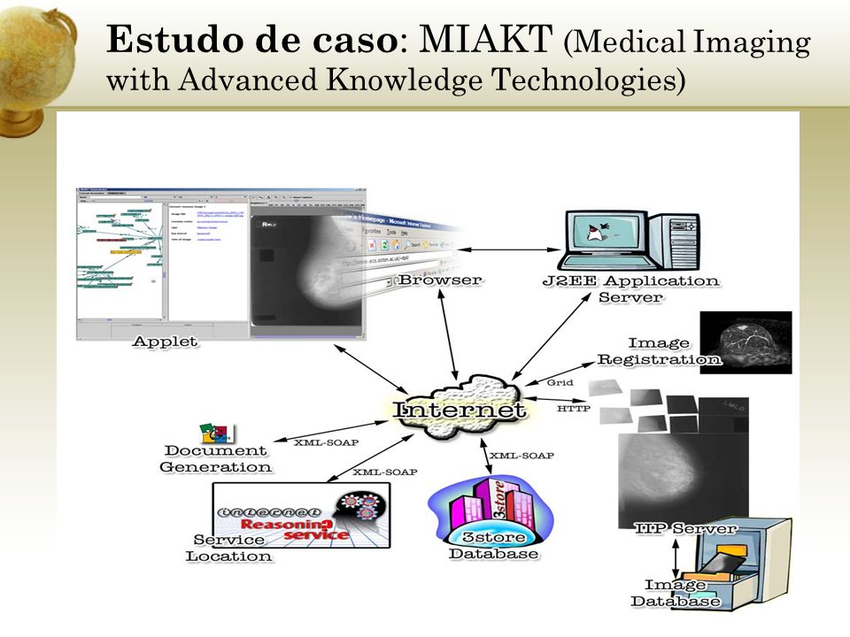 Estudo de caso: MIAKT (Medical Imaging with Advanced Knowledge Technologies)