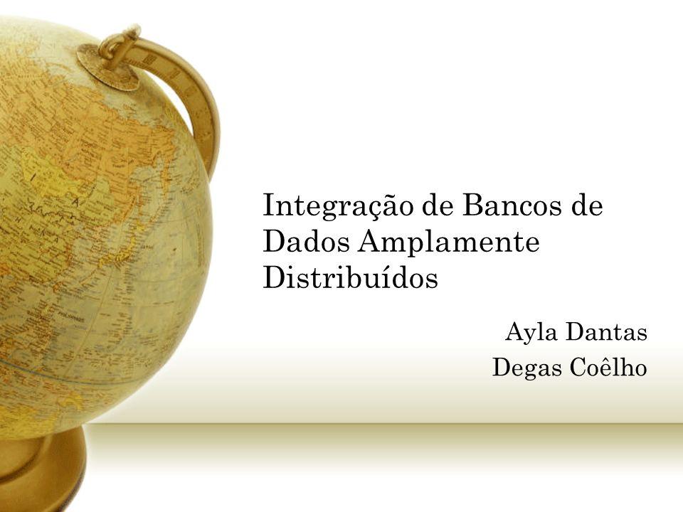 Integração de Bancos de Dados Amplamente Distribuídos
