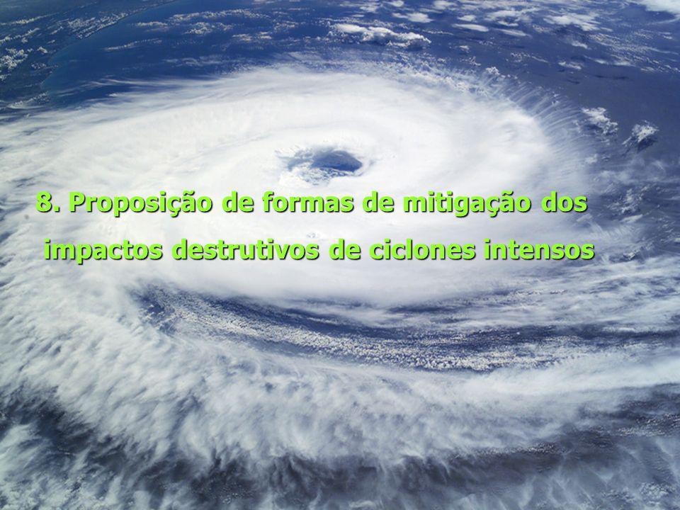 8. Proposição de formas de mitigação dos