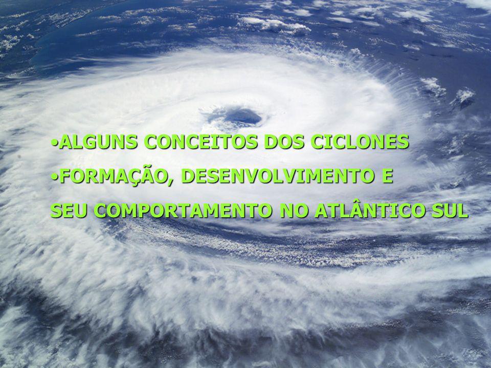 ALGUNS CONCEITOS DOS CICLONES
