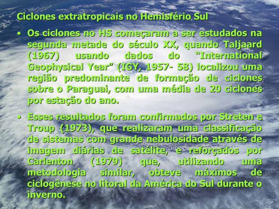 Ciclones extratropicais no Hemisfério Sul