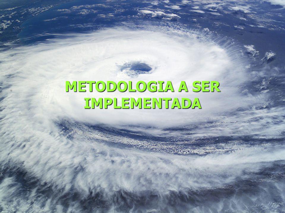METODOLOGIA A SER IMPLEMENTADA