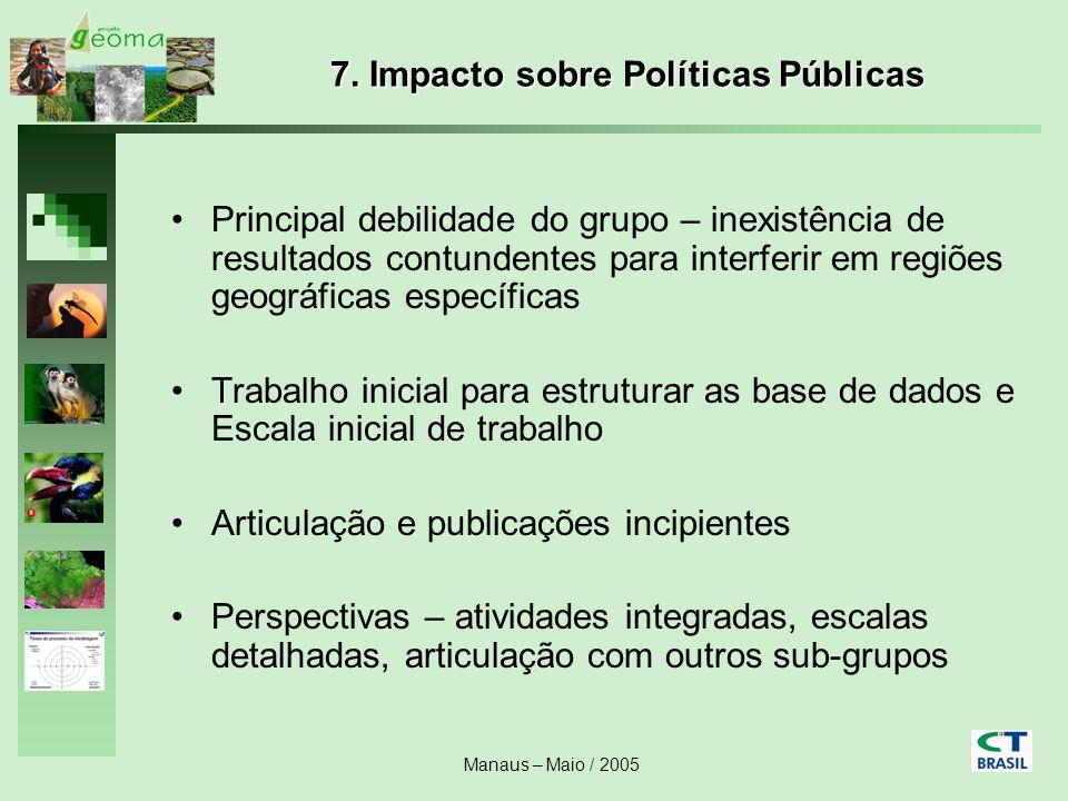 7. Impacto sobre Políticas Públicas