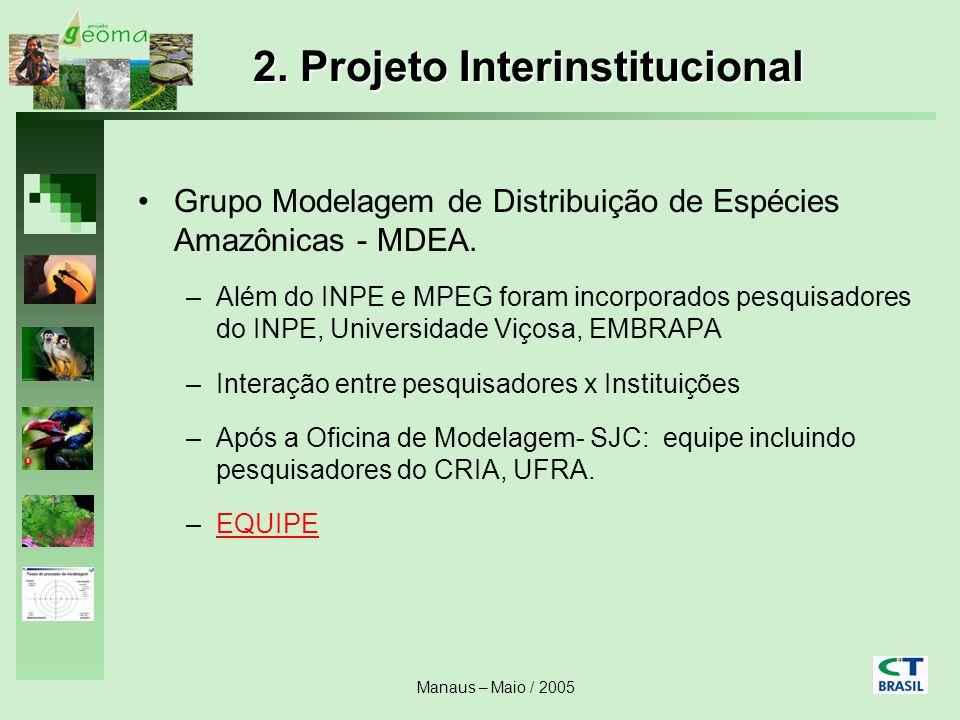 2. Projeto Interinstitucional
