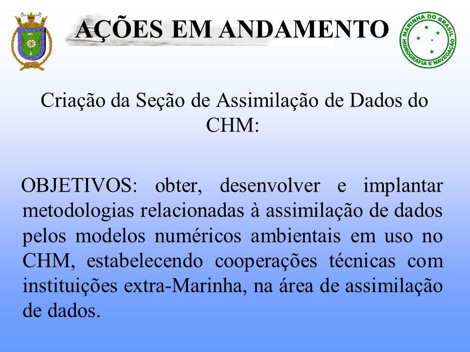 Criação da Seção de Assimilação de Dados do CHM: