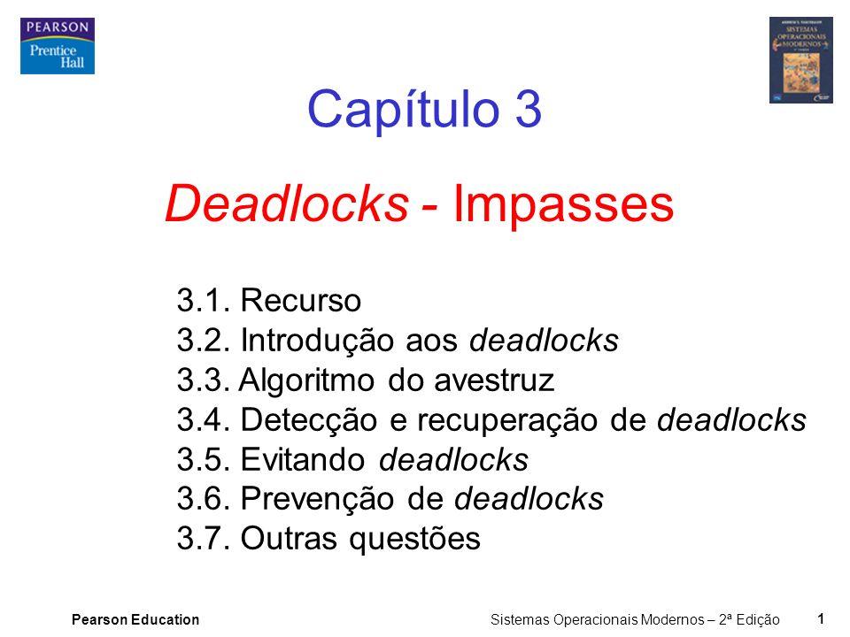 Capítulo 3 Deadlocks - Impasses 3.1. Recurso