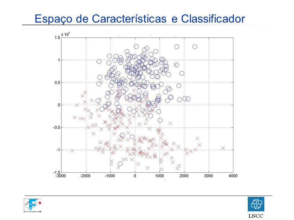 Espaço de Características e Classificador