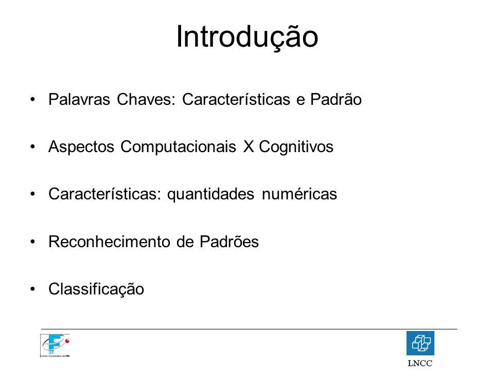 Introdução Palavras Chaves: Características e Padrão