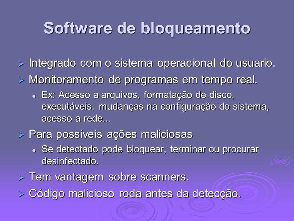 Software de bloqueamento