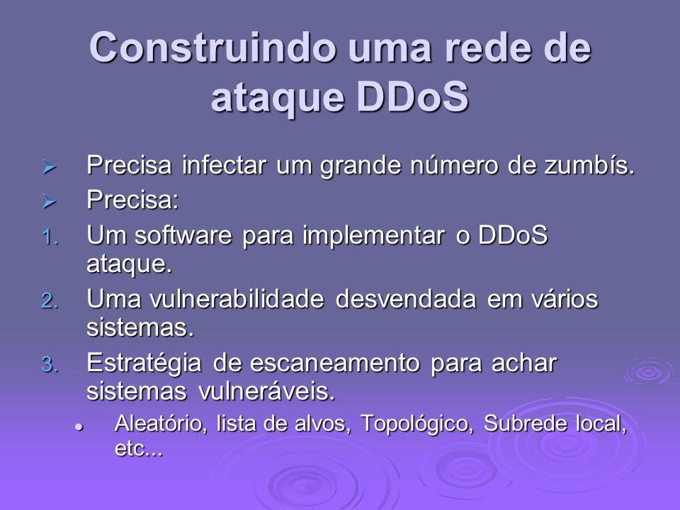 Construindo uma rede de ataque DDoS