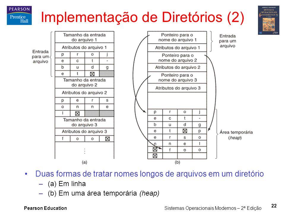Implementação de Diretórios (2)