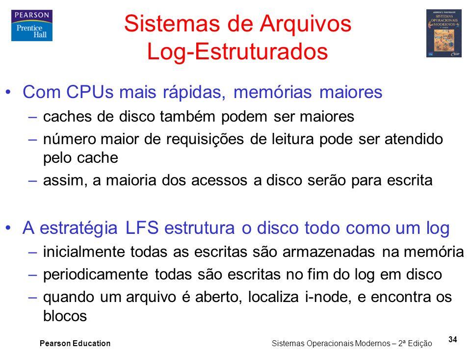 Sistemas de Arquivos Log-Estruturados