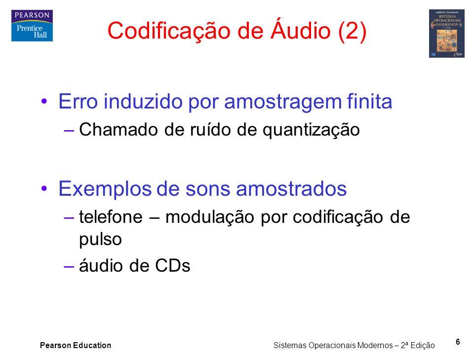 Codificação de Áudio (2)
