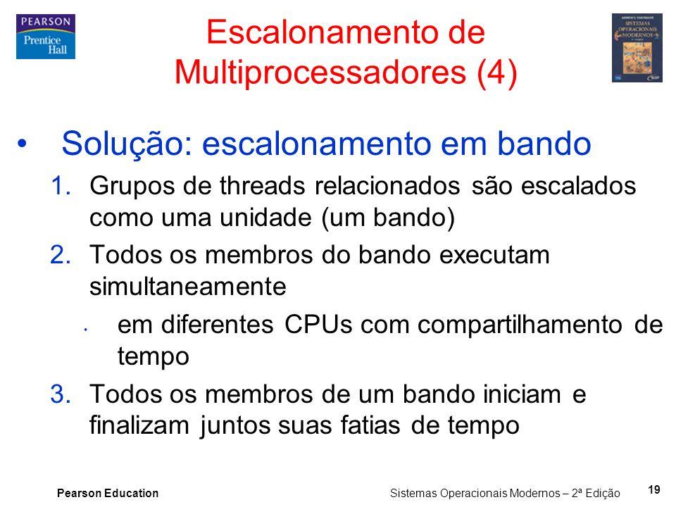 Escalonamento de Multiprocessadores (4)