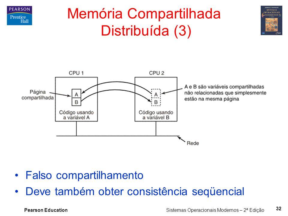 Memória Compartilhada Distribuída (3)