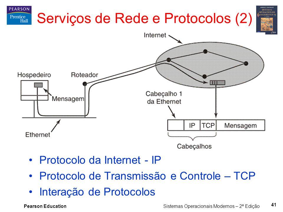 Serviços de Rede e Protocolos (2)