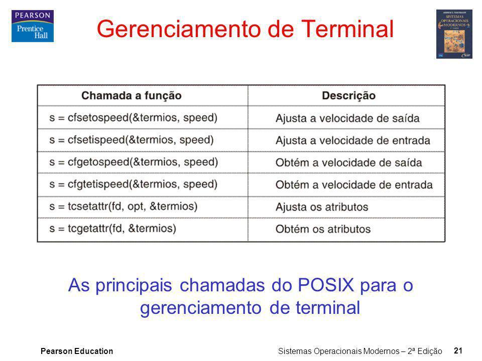 Gerenciamento de Terminal