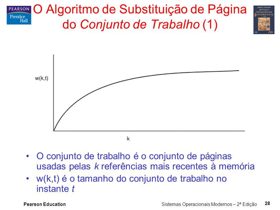 O Algoritmo de Substituição de Página do Conjunto de Trabalho (1)