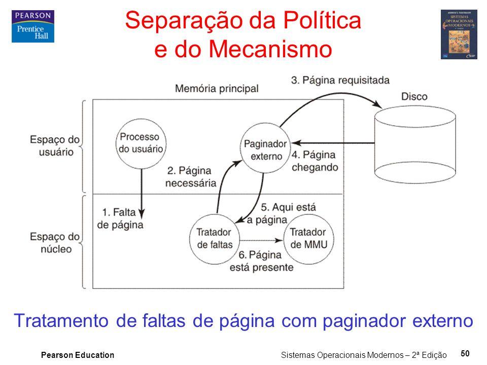 Separação da Política e do Mecanismo