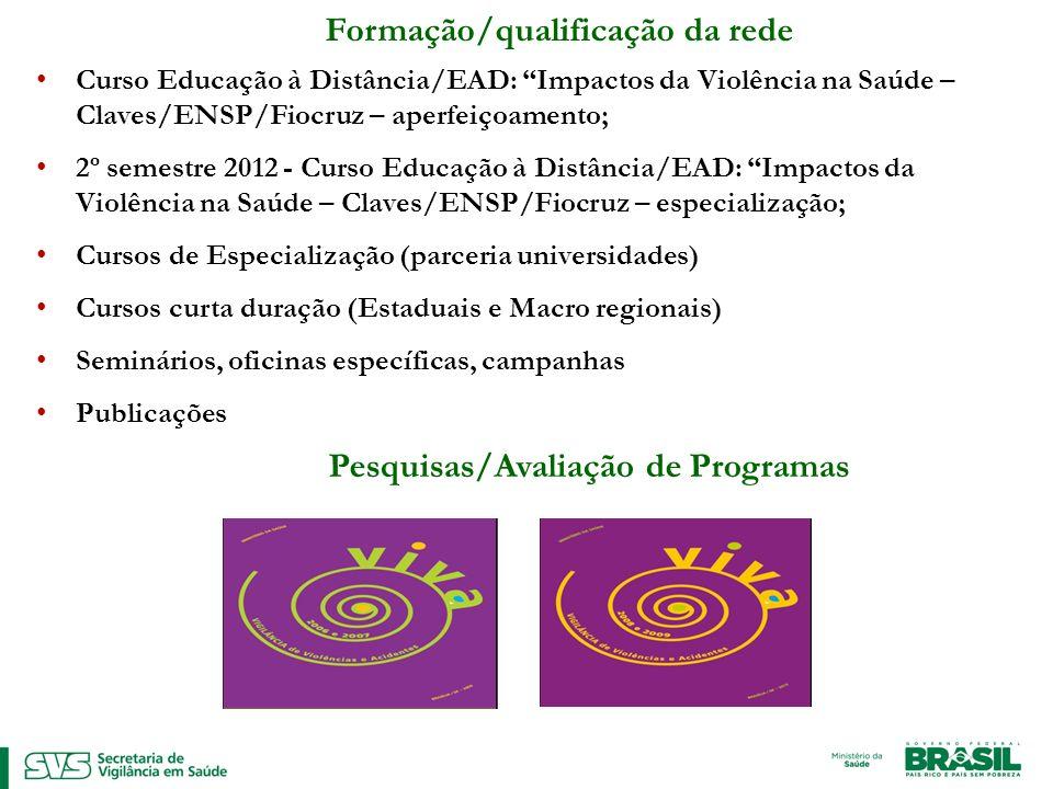 Formação/qualificação da rede