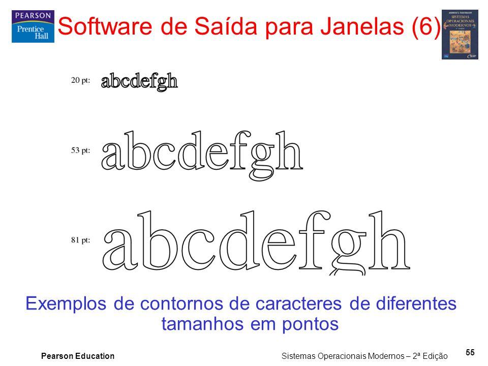 Software de Saída para Janelas (6)