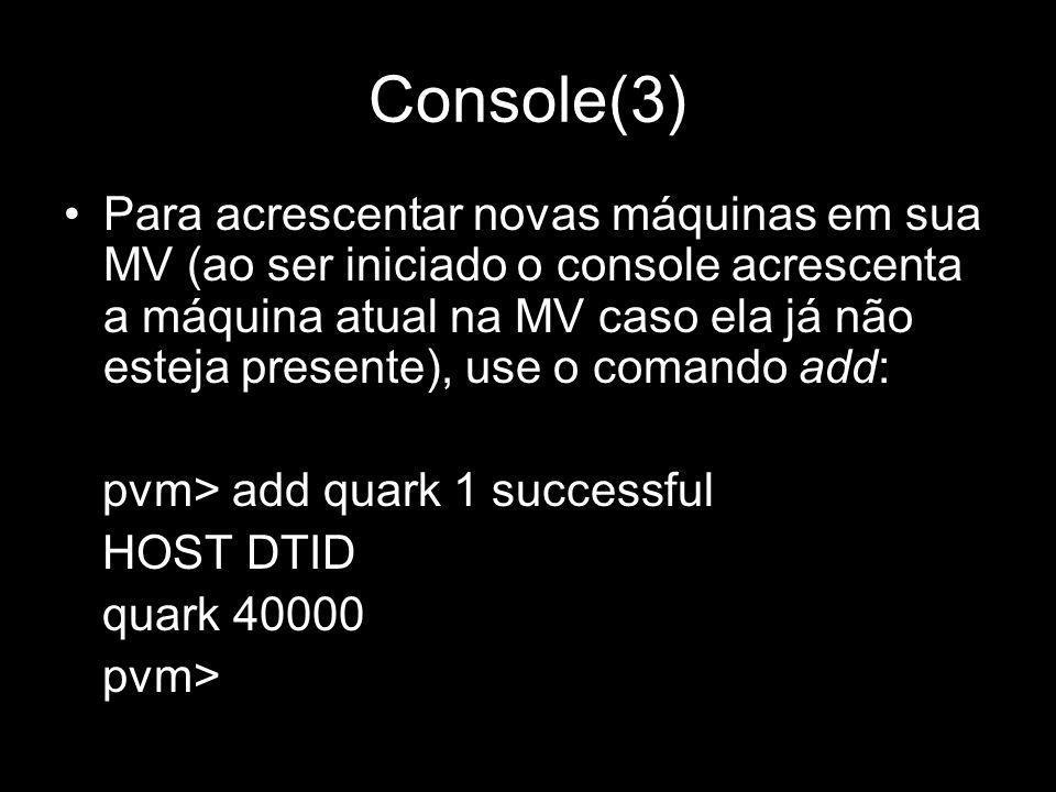 Console(3)