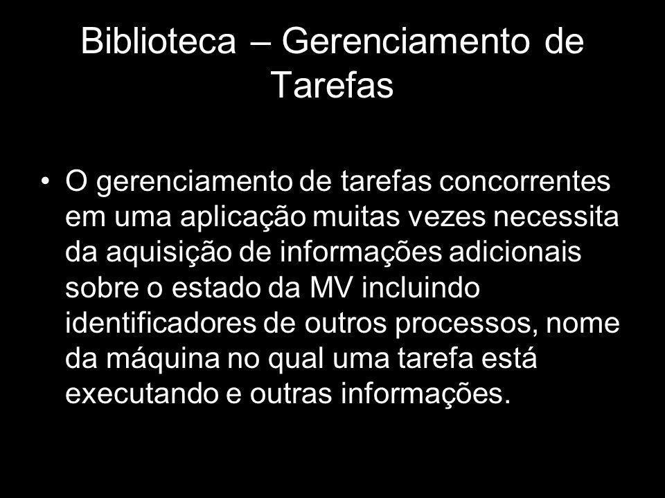 Biblioteca – Gerenciamento de Tarefas