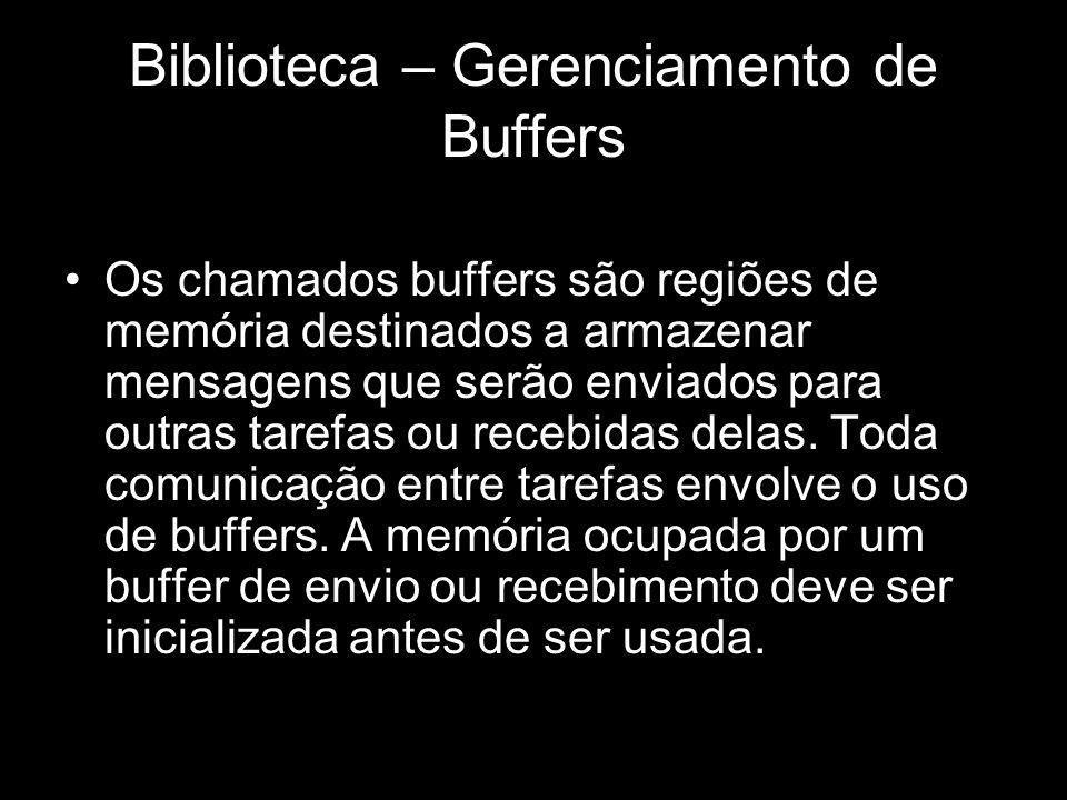 Biblioteca – Gerenciamento de Buffers