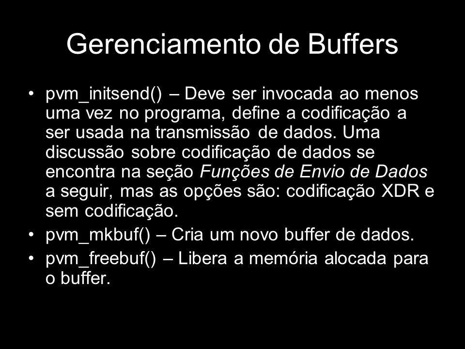 Gerenciamento de Buffers