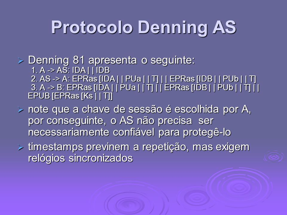 Protocolo Denning AS