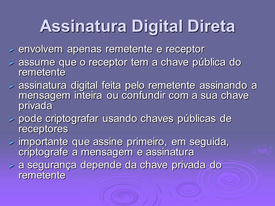Assinatura Digital Direta
