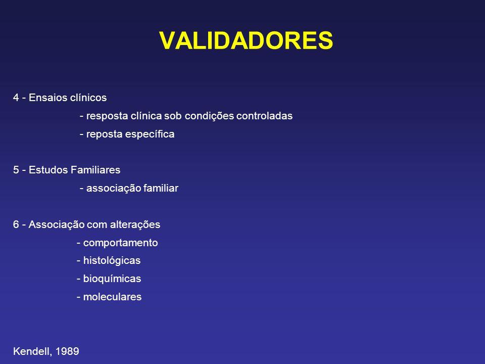VALIDADORES 4 - Ensaios clínicos