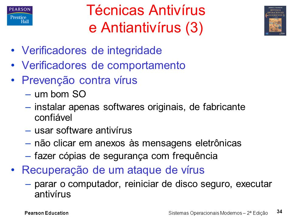 Técnicas Antivírus e Antiantivírus (3)