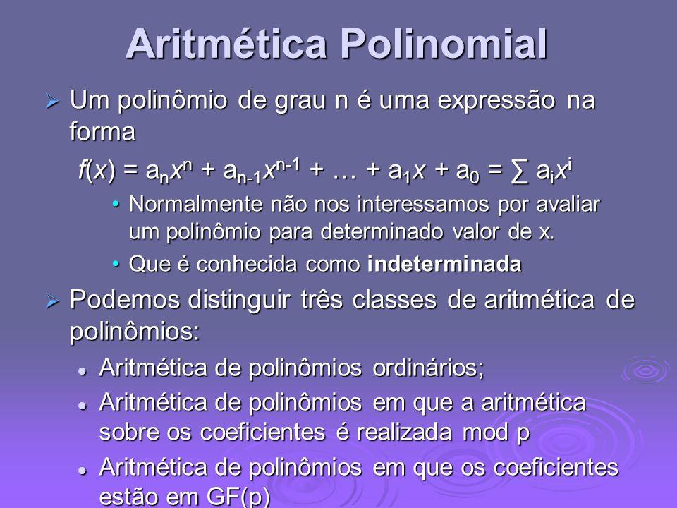 Aritmética Polinomial