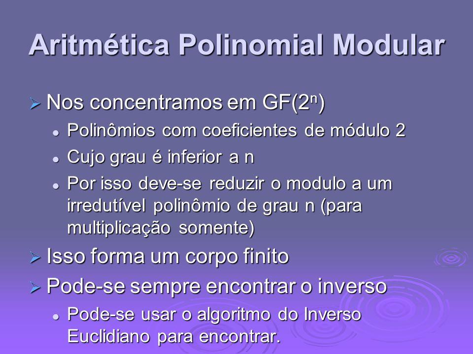 Aritmética Polinomial Modular