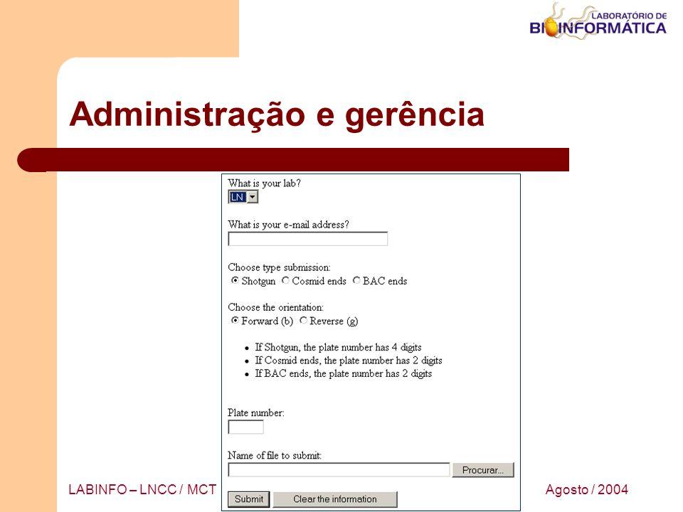 Administração e gerência